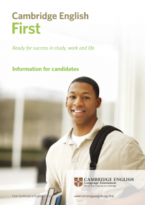 First guide Cambridge English